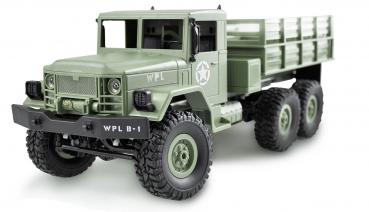 U.S. Truck 6WD 1:16 army-green RTR